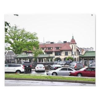 Ridgewood Train Station Photographic Print