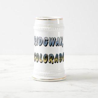 Ridgway, stein de la cerveza de Colorado Tazas De Café