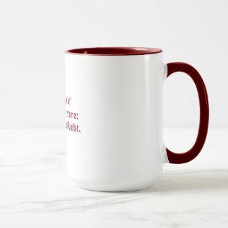 Ridicules natural law theory mug