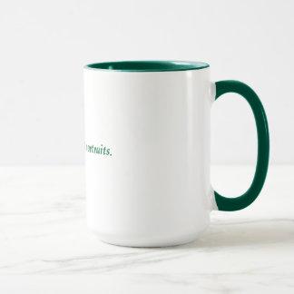 ridicules the idea of Jesus sightings Mug