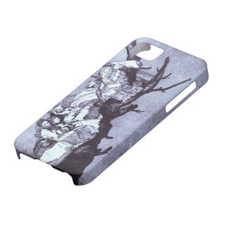 Ridiculous dream by Francisco Goya iPhone 5 Cover