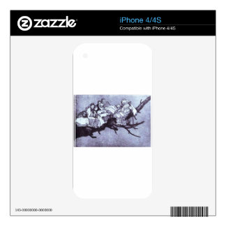 Ridiculous dream by Francisco Goya Skins For The iPhone 4