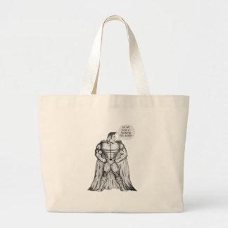 Ridiculous Superhero Large Tote Bag