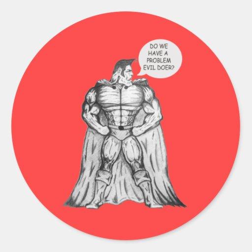 Ridiculous Superhero Stickers