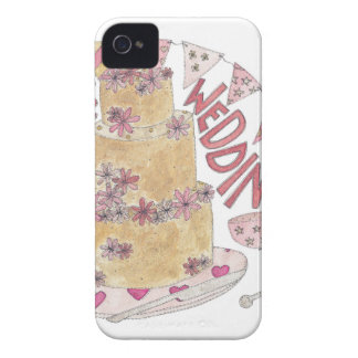 Ridiculously Delicious Wedding Cake iPhone 4 Case-Mate Case
