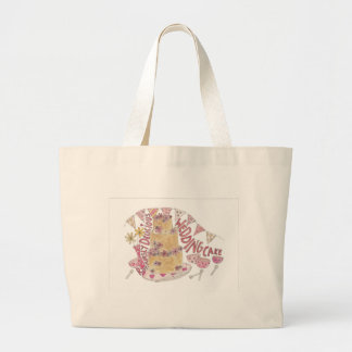 Ridiculously Delicious Wedding Cake Large Tote Bag