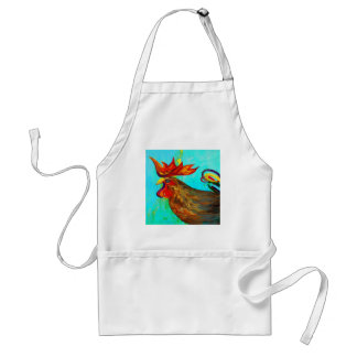 Ridiculously Handsome Rooster Adult Apron