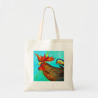 Ridiculously Handsome Rooster Tote Bag