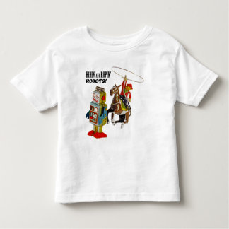 Ridin' and Ropin' ROBOTS! T Shirt