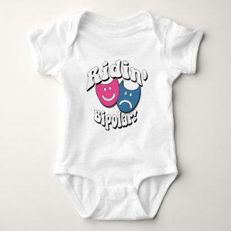 Ridin' Bipolar Baby Bodysuit