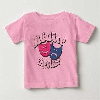 Ridin' Bipolar Baby T-Shirt