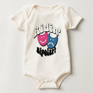 Ridin' Bipolar Baby Bodysuits