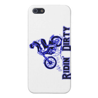 Ridin Dirty Dirt Bike Rider Case For iPhone SE/5/5s
