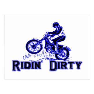 Ridin Dirty Postcard