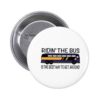 Ridin el autobús pins