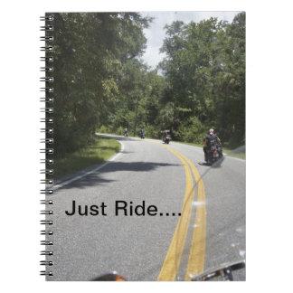 Ridin' Spiral Notebook
