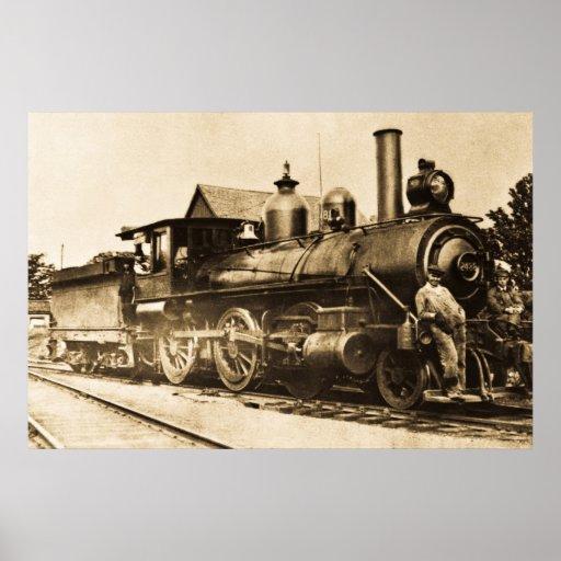 Ridin' that Train Poster