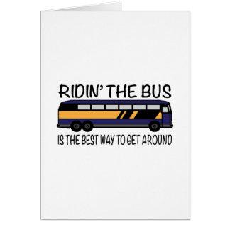Ridin the Bus Card