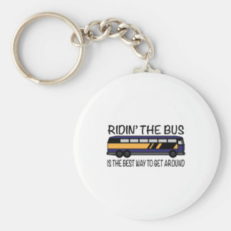 Ridin the Bus Keychains