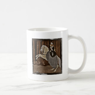 Riding a Horse in the Forest Coffee Mug