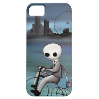 riding a trike zombie guy iPhone SE/5/5s case