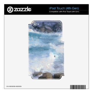 Riding a wave iPod touch 4G skins