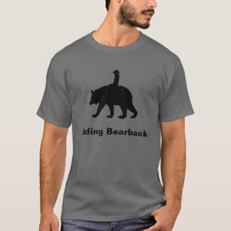 Riding Bareback Mens T-shirt
