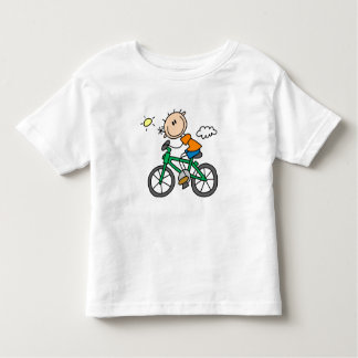 Riding Bicycle - Male Shirt