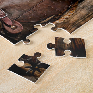 Riding Boots and Cowboy Hat Jigsaw Puzzle