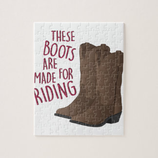 Riding Boots Jigsaw Puzzle