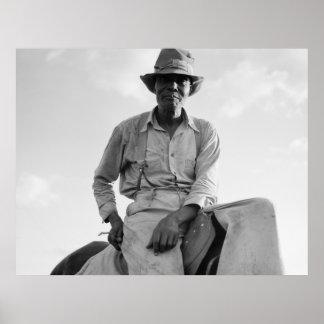 Riding Boss - 1937 Print