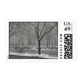 Riding By Postage Stamp