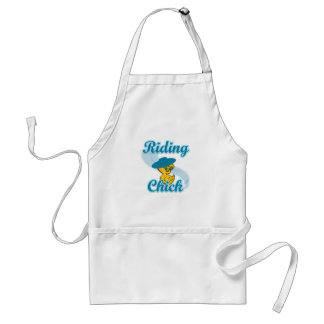 Riding Chick #3 Adult Apron