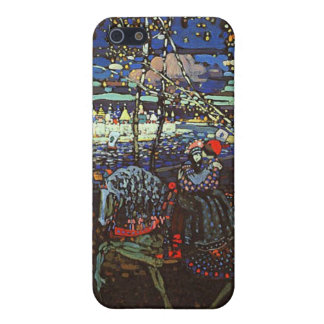 Riding Couple by Wassily Kandinsky iPhone SE/5/5s Case