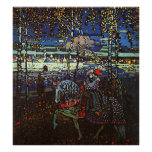 Riding Couple by Wassily Kandinsky Poster