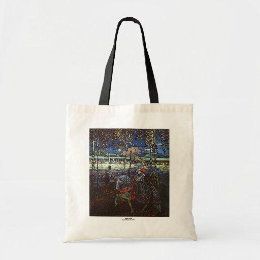 Riding Couple, Wassily Kandinsky 1907 Tote Bag