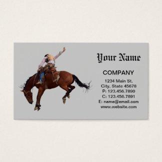 Riding Cowboy Business Card