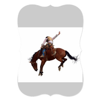 Riding Cowboy Card