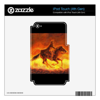 Riding Cowboy iPod Touch 4G Skins