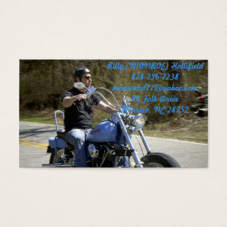 RIDING FREE BUSINESS CARD