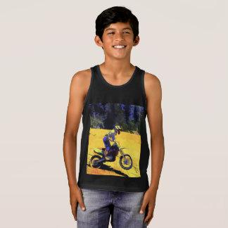 Riding Hard! - Motocross Racer Tank Top