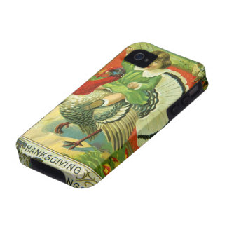 Riding High Thanksgiving Case-Mate iPhone 4 Cases