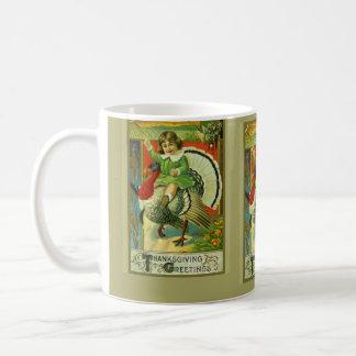 Riding High Thanksgiving Coffee Mug