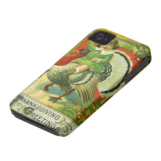 Riding High Thanksgiving iPhone 4 Case-Mate Case