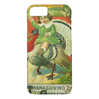 Riding High Thanksgiving iPhone 7 Case