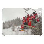 Riding high  the ski lift iPad mini cover