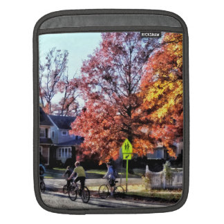 Riding Home From School Sleeve For iPads