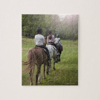 Riding Horses Jigsaw Puzzle