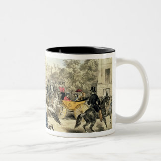 Riding in Rotten Row Hyde Park Coffee Mug