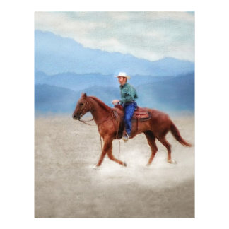 Riding in the Desert Letterhead